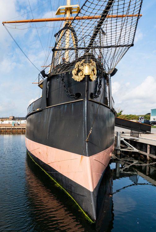 Te zien: Museumschip Schorpioen