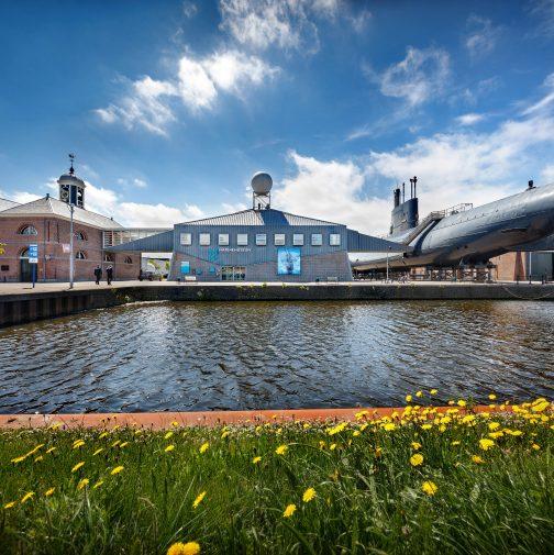 Openingstijden en route naar het Marinemuseum in Den Helder