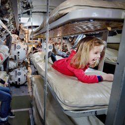 Met kinderen naar het marinemuseum