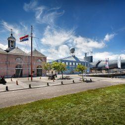Organisatie marinemuseum