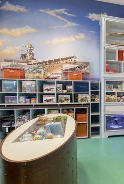 Museumwinkel Marinemuseum