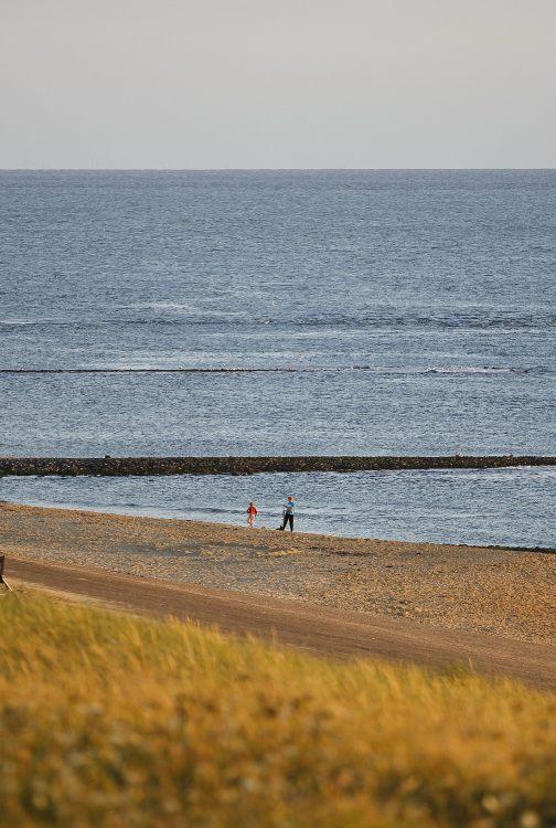 Uitje naar de kust