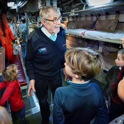 Plan je school bezoek aan het Marinemuseum