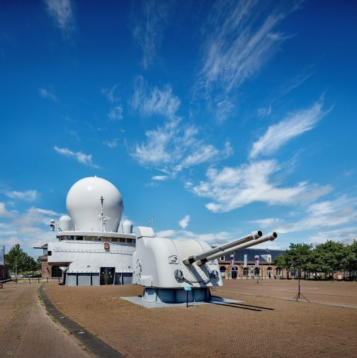 marinemuseum buiten